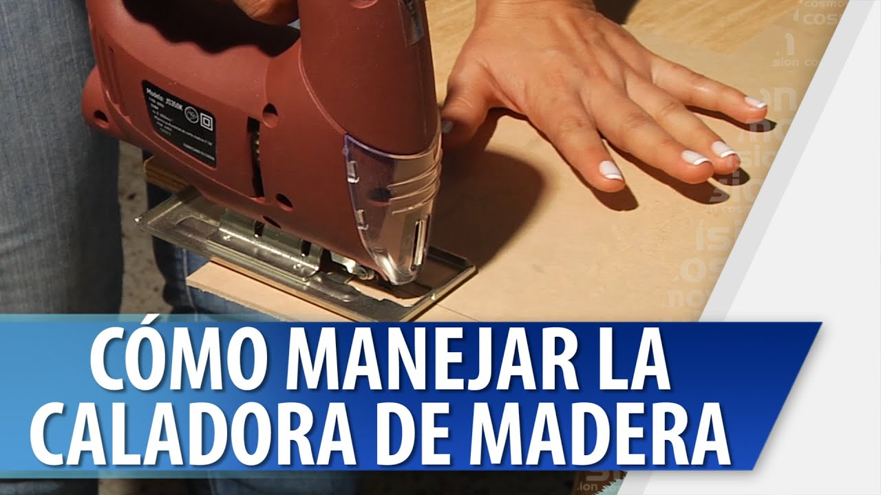 Cómo Manejar la Caladora para la Madera - YouTube