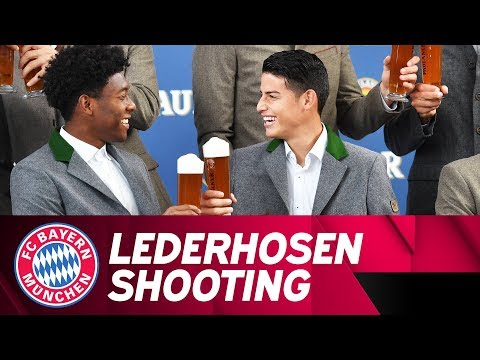 James Rodríguez & Co. in Lederhosen: Preparations for Oktoberfest in 4K 🍺 | FC Bayern