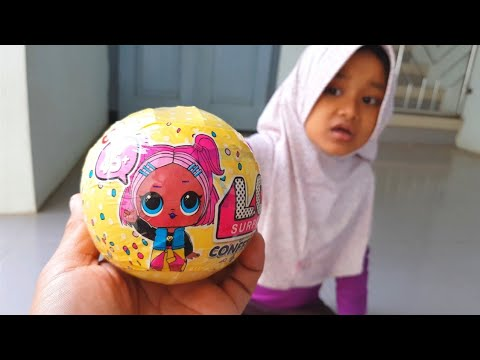 Unboxing LOL SURPRISE Confetti Pop Series 3 Baby Dolls 💟 Review Mainan Anak  Perempuan Boneka Lucu 46f044fee6