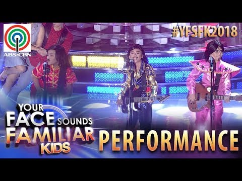 Your Face Sounds Familiar Kids 2018: TNT Boys as VST & Company | Swing