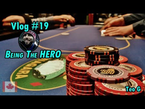 $1200 HERO POT!! at Niagara | 2/5 NL Holdem | Poker Vlog #19