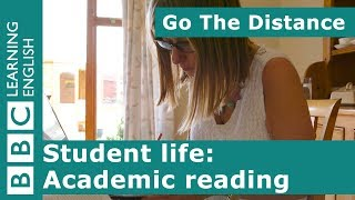 Student Life – Academic reading