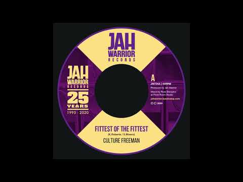 Culture Freeman - Fittest Of The Fittest - Jah Warrior Records