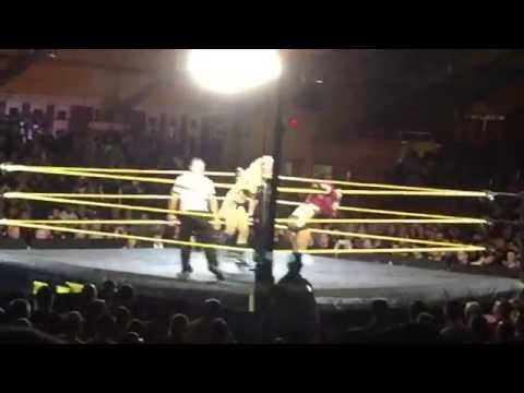 Sasha Banks vs. Charlotte for NXT Women's Title at Washington Avenue Armory