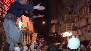 عراضة شامية سيف وترس زفة عرس فرقة ربوع الشام القديمة في اسطنبول بقيادة ابو مازن النن 00905393720947