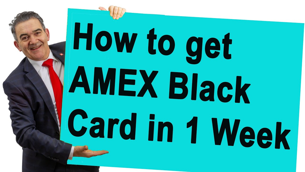 Download How to Get American Express Centurion Card (in 1 Week)