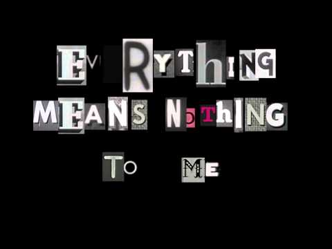 Everything Means Nothing To Me (Elliott Smith cover) - The Resident Cards