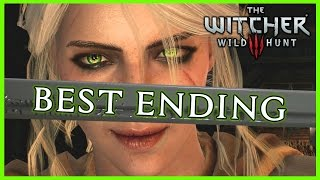 Witcher 3 ► THE BEST ENDING - Ciri Becomes a Witcher, Triss Romance