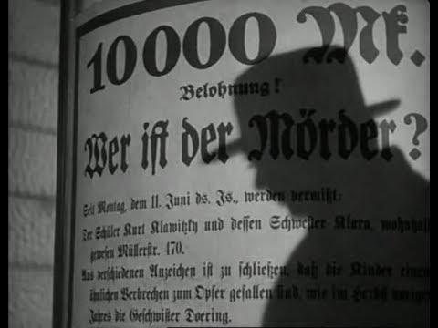 Fritz Lang: M - Il mostro di Düsseldorf (1931)