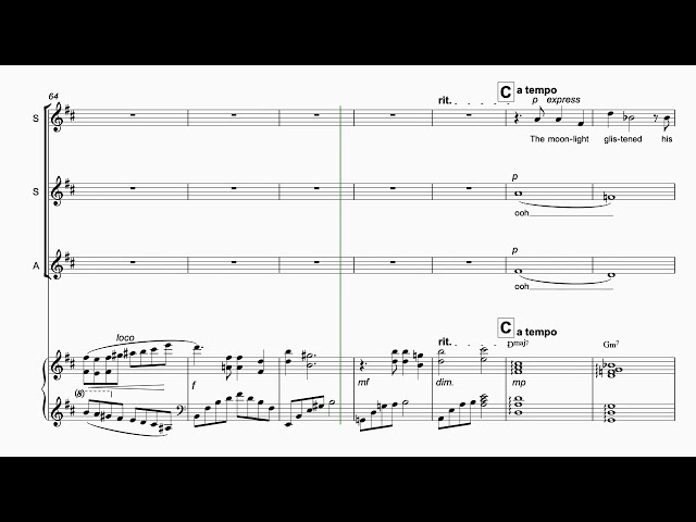 Nature of Music for SSA + Piano