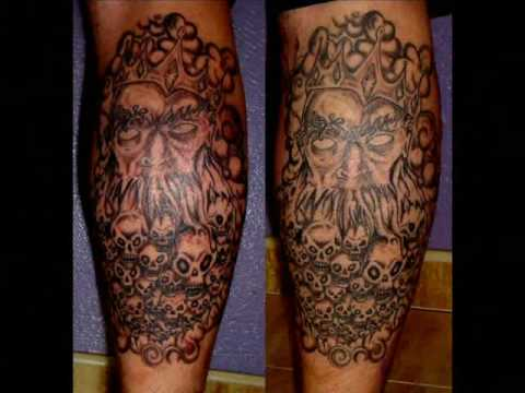 Tatuajes De Calaveras Demonios Youtube