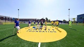 Koeman Opens Cruyff Court Everton