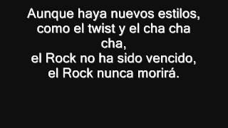 Ciro y Los Persas - L.V.R. (Larga vida al Rock) (+ letra) (Álbum