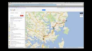 Importing KMZ files to Google Maps Free HD Video