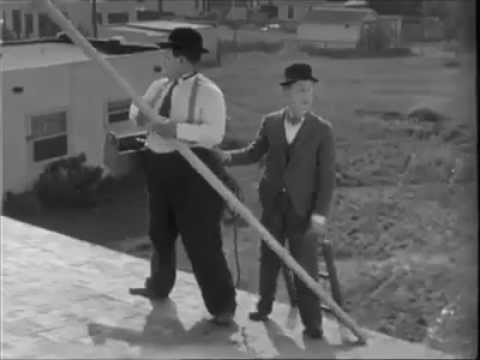 Slapstick comedy duo   Laurel and Hardy Κωμωδία duo λόρελ κα