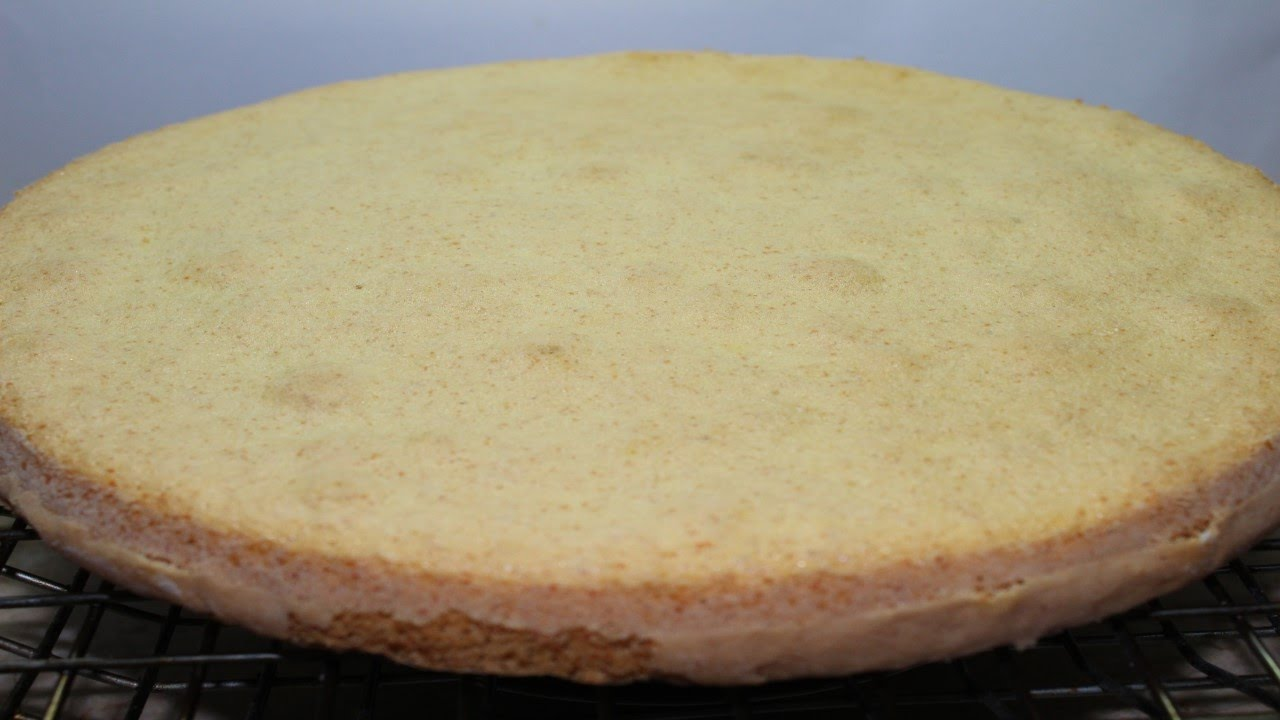 طريقة عمل الكيكة الاسفنجية بطريقة بسيطة لعمل طبقات التورتة