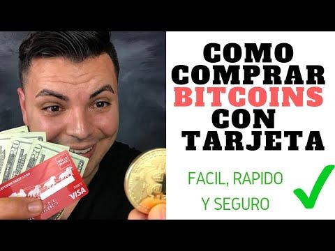 Como Comprar Bitcoins Con Tarjeta 2019✅ (Fácil, Rápido Y Seguro)