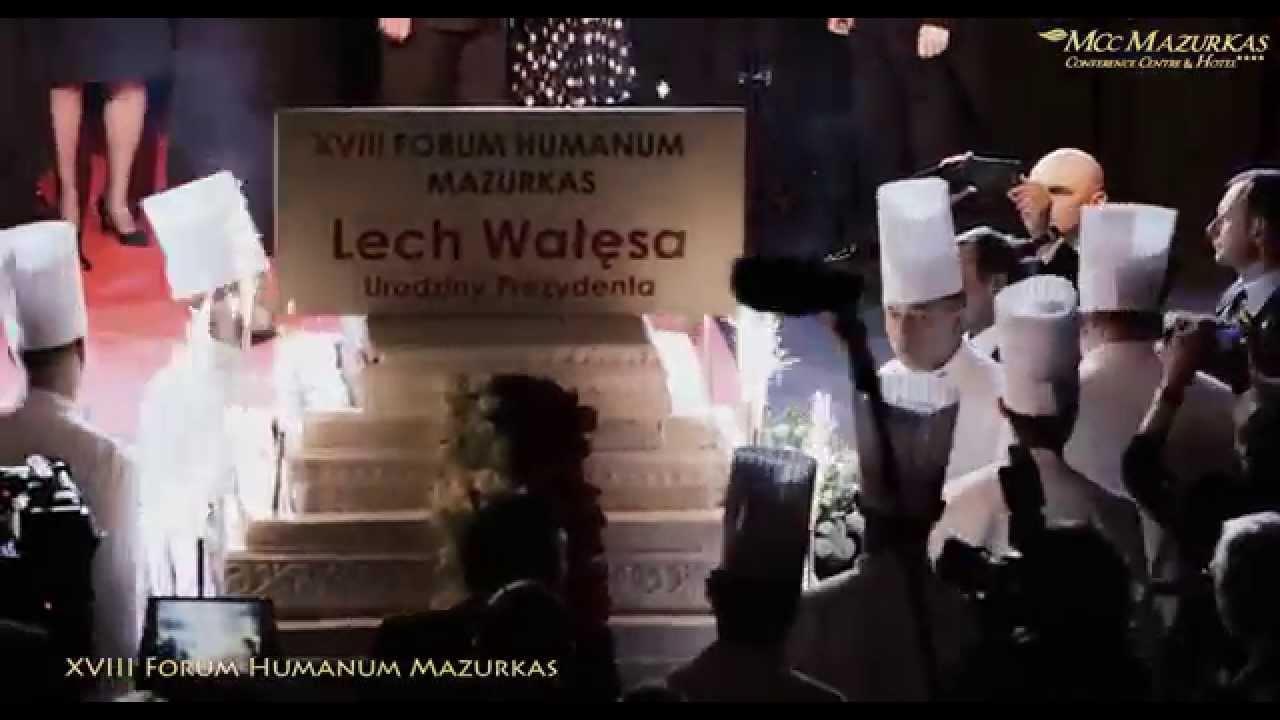 XVIII FH Mazurkas-Tort dla jubilata Lecha Wałęsy-