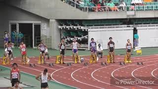 2017 東海中学総体 陸上男子2年100m決勝