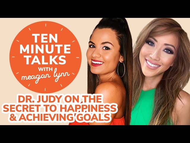 Dr. Judy Ho on The Secret to Happiness & Achieving Your Goals in 2021