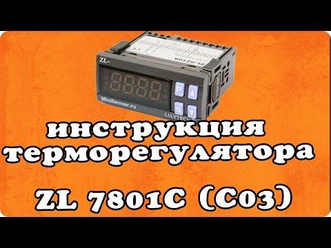 видео: Инструкция терморегулятора для инкубатора lilytech zl 7801c (версия c03)
