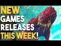 Every BIG NEW Games Release This Week (1/22 - 1/28) Upcoming Games 2018 for PS4 Switch X1 PSVR PC