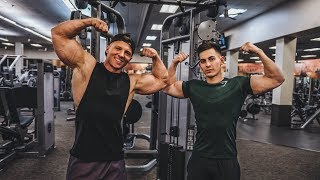 How to GROW Your Arms FAST w/ FaZe Censor | Taking Doug Through H3P Training