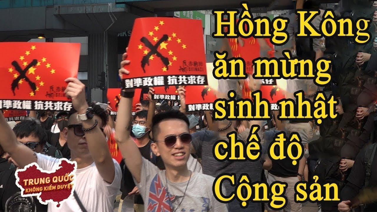 Cảnh Sát Chống Bạo Động tại Hồng Kông Trong Ngày Quốc Khánh Trung Quốc   Trung Quốc Không Kiểm Duyệt