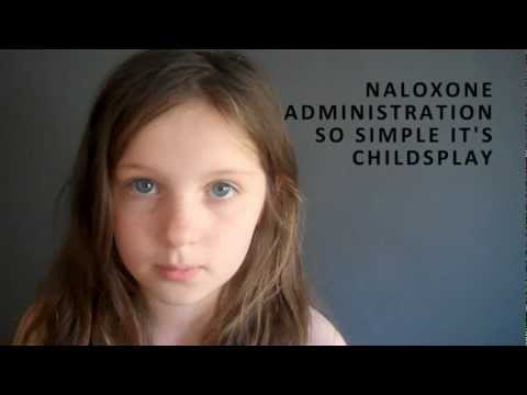 Naloxone administration is childs play