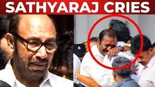 FULL HD: Vadivelu |  Sathyaraj | Vairamuthu at Kalaignar's funeral!