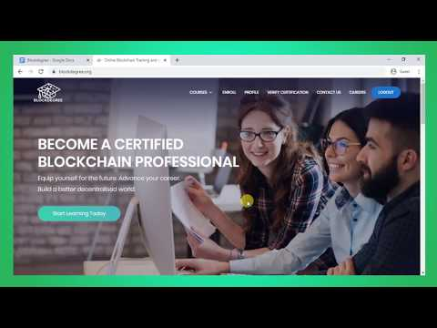Blockchain Certification and Free Online Courses