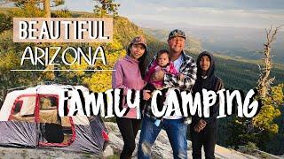Family Camping With Friends // Arizona Camping Spots I Bear Canyon Lake | Mogollon Rim