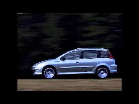 2001 Peugeot 206 Sw Concept Youtube