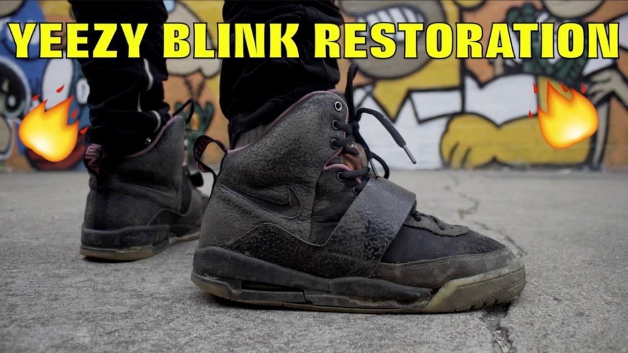 8862cf9217f411 2009 YEEZY BLINK FULL RESTORATION!! (MUST WATCH) - YouTube