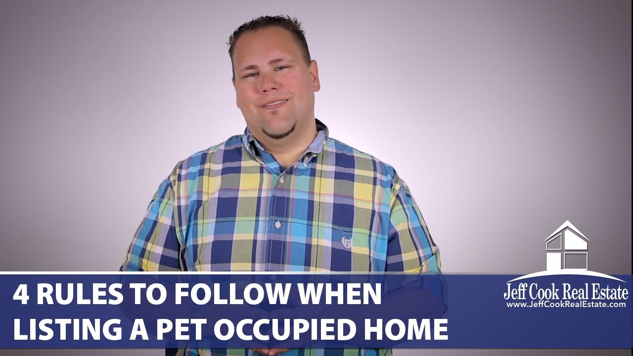 Pet Owner? Follow These 4 Rules When Listing | Jeff Cook ...