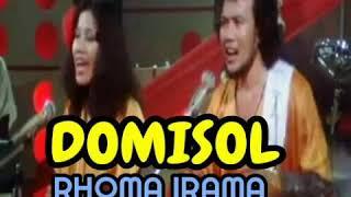 Domisol - RHOMA IRAMA & RITA SUGIARTO ( lagu dangdut jadul )