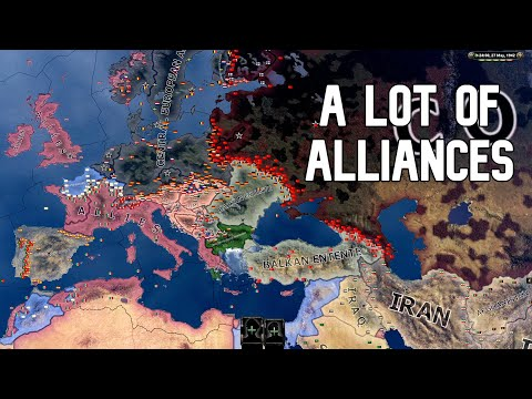 The 6 Factions of Europe   HOI4 Timelapse  