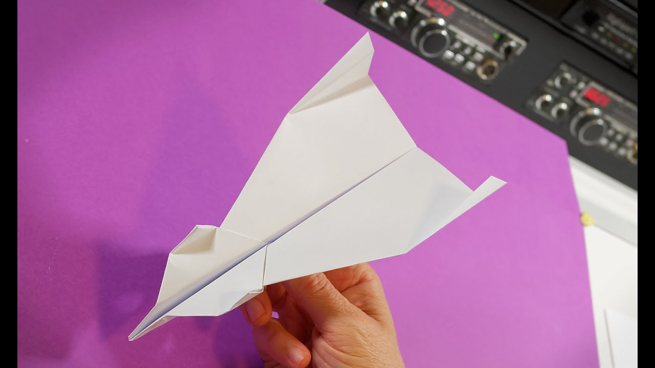 How Far Will It Fly? Build & Test Paper Planes with Different Drag
