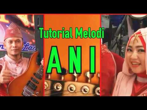 Tutorial Melodi Dangdut Lagu ANI Rhoma Irama Video Cover