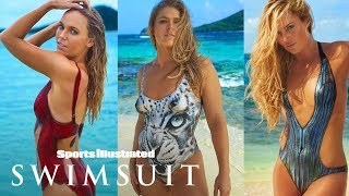 Ronda Rousey, Caroline Wozniacki & More In Nothing But Paint | On Set | Sports Illustrated Swimsuit