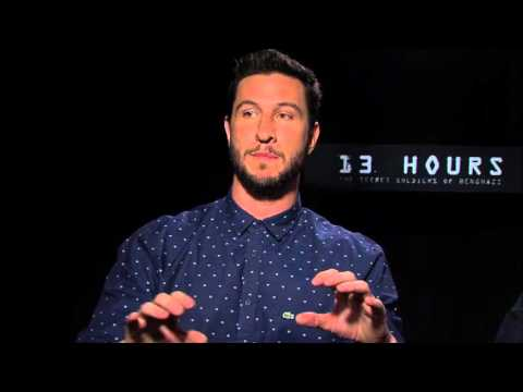 13 Hours: Pablo Schreiber & David Denman Exclusive