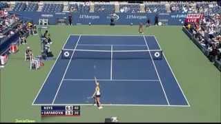 Madison Keys vs Lucie Safarova 2011 US Open Highlights