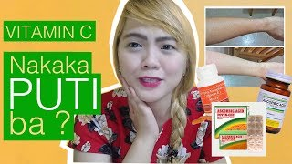 Vitamin C Best Skin Whitening Supplements + Glowing Skin (Myra E and POTEN CEE REVIEW)