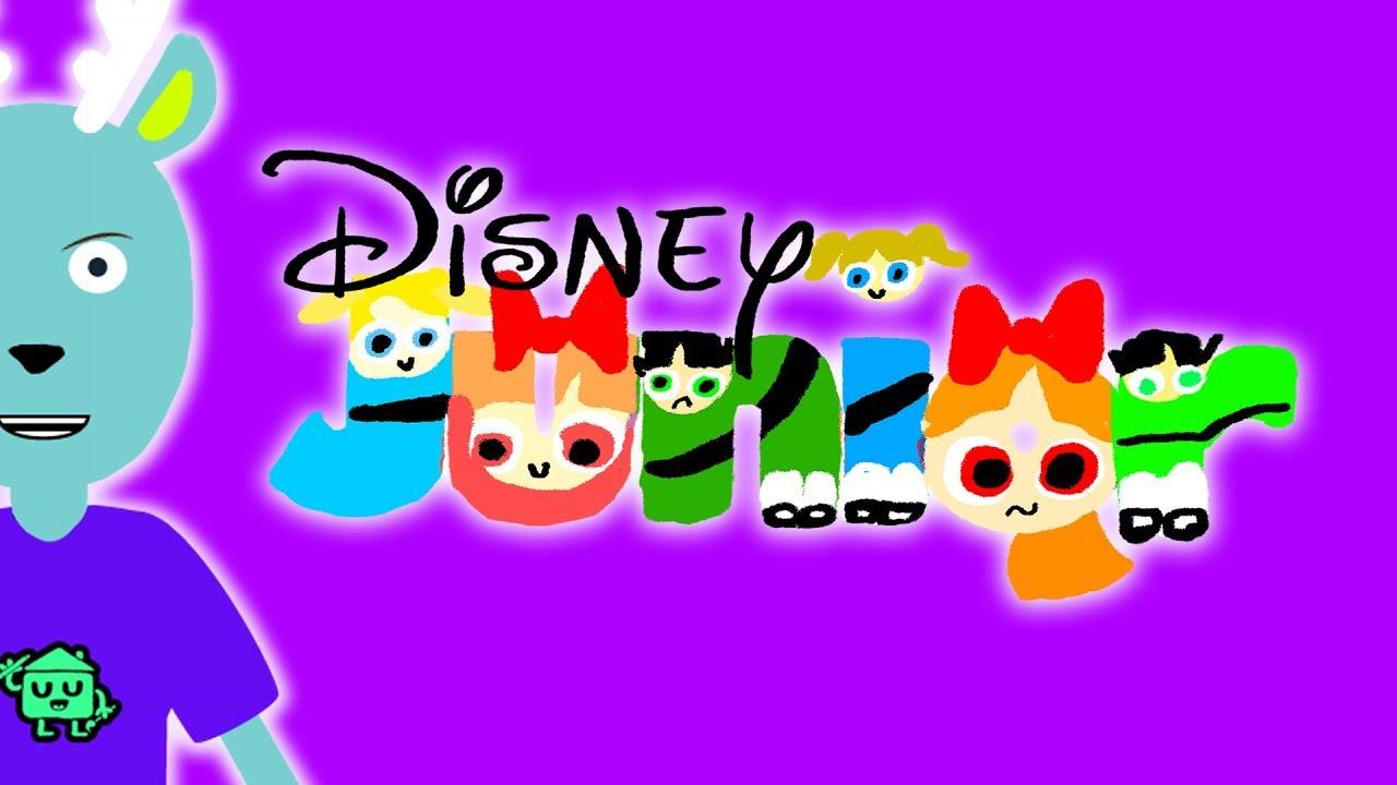 Disney Junior Bumper Logo Drawing PowerPuff Girls