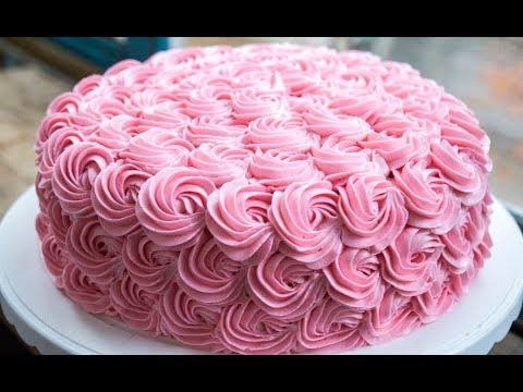 Цветы на торт из крема рецепт крема для торта в домашних условиях