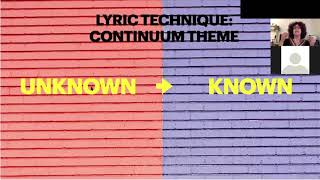 Songwriting   Lyric  Writing technique 2