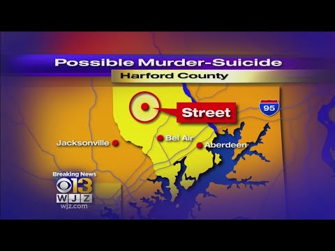 Possible Murder-Suicide In Harford County