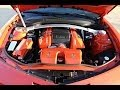 HD VIDEO CHEVROLET CAMARO 2SS CONVERTIBLE RS ORANGE V8 FOR SALE SEE WWW SUNSETMILAN COM