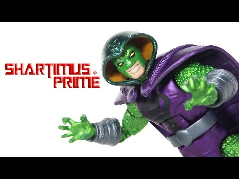 Marvel Legends King Cobra Avengers Infinity Thanos BAF Wave Movie Hasbro Action Figure Toy Review