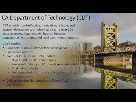 Evolution of the California Department of Technology